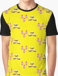 My little Pony - Cup Cake + Carrot Cake Cutie Mark V3 Graphic T-Shirt
