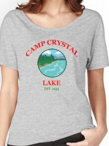 Camp Crystal Lake - Friday The 13th Women's Relaxed Fit T-Shirt