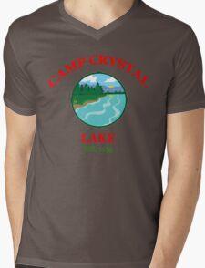 Camp Crystal Lake - Friday The 13th Mens V-Neck T-Shirt