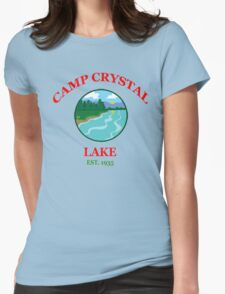 Camp Crystal Lake - Friday The 13th Womens Fitted T-Shirt