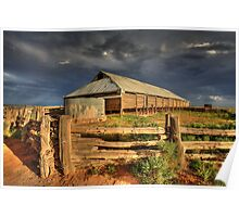 The Woolshed - Lake Mungo Poster