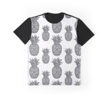 Boho seamless pattern with ornamental pineapple fruit. Graphic T-Shirt