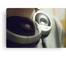 """headphones"" Canvas Print"