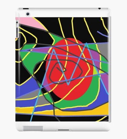 Concept of confused abstract iPad Case/Skin