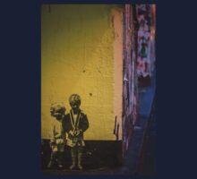 Seattle, Post Alley mural wall art Kids Tee