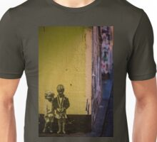 Seattle, Post Alley mural wall art Unisex T-Shirt