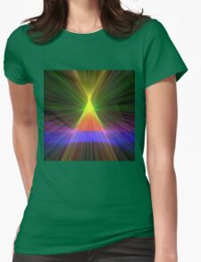 Linify Linify Light Tower, Pyramid Womens Fitted T-Shirt