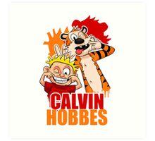Calvin And Hobbes 2 Art Print