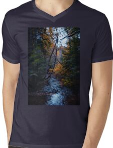 Dank forest Mens V-Neck T-Shirt