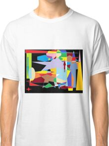 Abstract colour mix background Classic T-Shirt