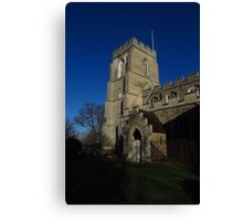 Porch & Tower, Stoke By Clare, Suffolk Canvas Print