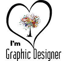 I'm Graphic Designer  Photographic Print