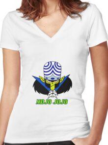 MOJO JOJO 2 Women's Fitted V-Neck T-Shirt