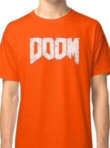 New DOOM logo game HQ Classic T-Shirt