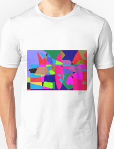 color abstract scribble background T-Shirt