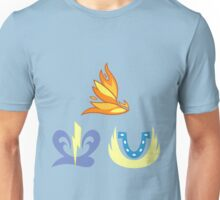 My little Pony - Spitfire + Soarin + Fleetfoot (Wonderbolts) Cutie Mark Unisex T-Shirt