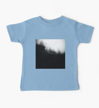 Cabin on a foggy morning Baby Tee