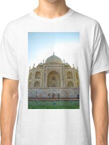 Reflection Of Taj Mahal Classic T-Shirt