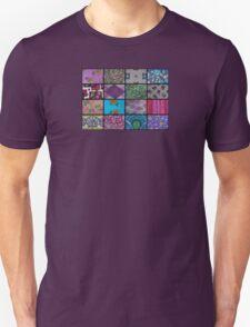 Patchwork, vintage style Unisex T-Shirt