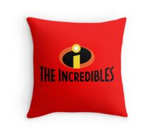 The Incredibles Throw Pillow