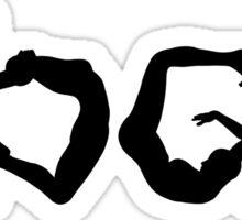 Y.O.G.A Sticker