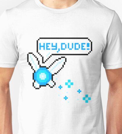 """""""Hey, Dude!"""" Navi Unisex T-Shirt"""