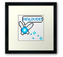 """Hey, Dude!"" Navi Framed Print"