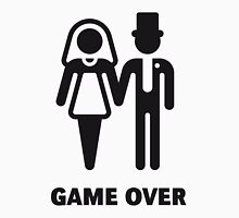 Game Over (Stag Party / Hen Night / Black) Unisex T-Shirt