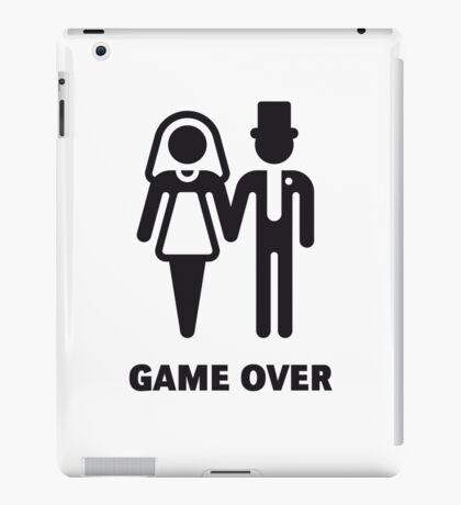 Game Over (Stag Party / Hen Night / Black) iPad Case/Skin