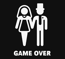 Game Over (Stag Party / Hen Night / White) Unisex T-Shirt