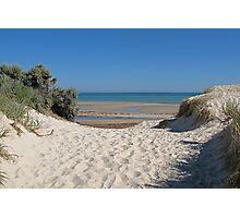 Dune Crossing Photographic Print