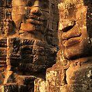 Bayon Temple faces by Mark Bolton