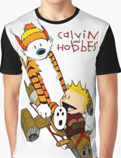 Calvin and Hobbes : Superjet Graphic T-Shirt