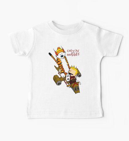 Calvin and Hobbes : Superjet Baby Tee