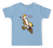 Calvin and Hobbes : Superjet Kids Tee