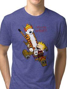 Calvin and Hobbes : Superjet Tri-blend T-Shirt