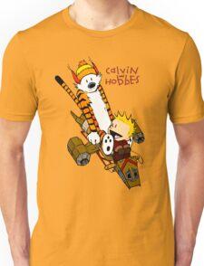 Calvin and Hobbes : Superjet Unisex T-Shirt