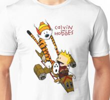 Calvin and Hobbes : Superjet Unisex T-Shirt