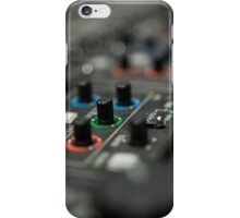 Video mixer iPhone Case/Skin