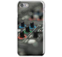 Video mixer iPhone Case/Skin