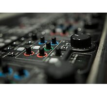 Video mixer Photographic Print