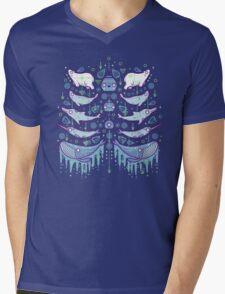 Water chest Mens V-Neck T-Shirt