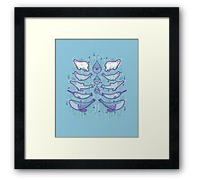 Water chest Framed Print