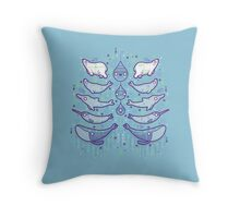 Water chest Throw Pillow