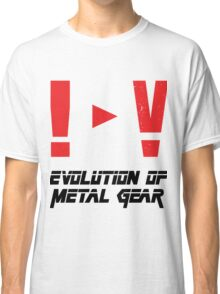 Evolution of Metal Gear Classic T-Shirt
