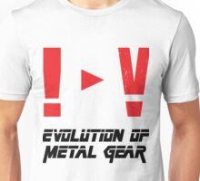 Evolution of Metal Gear Unisex T-Shirt