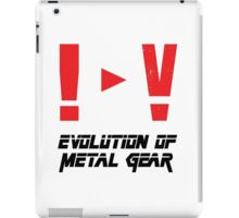 Evolution of Metal Gear iPad Case/Skin