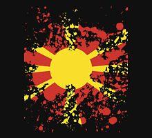 Macedonia Flag Ink Splatter Unisex T-Shirt