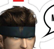 Metal Gear? Sticker