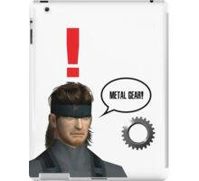 Metal Gear? iPad Case/Skin